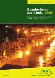 Bundesfeier am Rhein 2009 - BLT