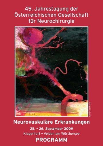 Programm - Österreichische Gesellschaft für Neurochirurgie