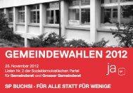 unsere Kandidatinnen und Kandidaten im Überblick - SP ...