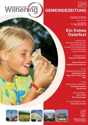 Gemeindezeitung 1 / 2008 (0 bytes) - Gemeinde Wilhering