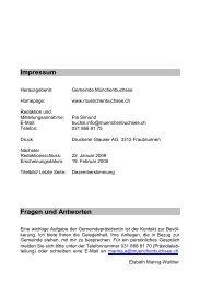 Buchsi-Info 2008/6 - Gemeinde Münchenbuchsee