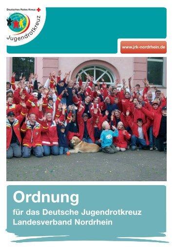 Ordnung - JRK-Nordrhein