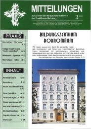 Bildungszentrum Borromäum - Erzdiözese Salzburg