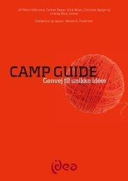 CAMP GUIDE - genvej til unikke idéer - Erhvervsakademi Sydvest