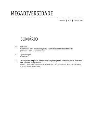 MEGADIVERSIDADE - Conservação Internacional