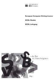 European Computer Driving Licence ECDL Module ECDL Lehrgang