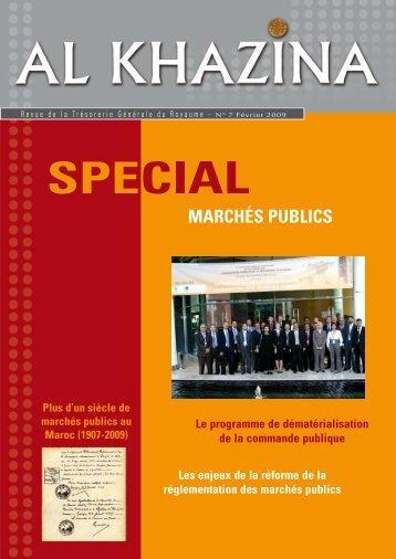 Marchés publics - Trésorerie Générale du Royaume