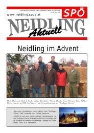 Neidling im Advent - SPÖ Neidling