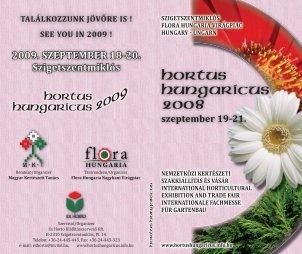 2009. SZEPTEMBER 18-20. Szigetszentmiklós - Hortus Hungaricus