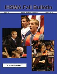 Fall Bulletin No. 241 - August 2012 - The Iowa High School Music ...