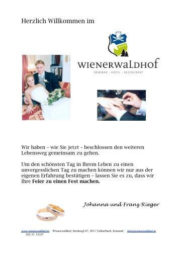 Fotograf Location festlegen + - Wienerwaldhof