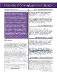 SUMMER NEWSLETTER - tcu band - Texas Christian University - Page 4