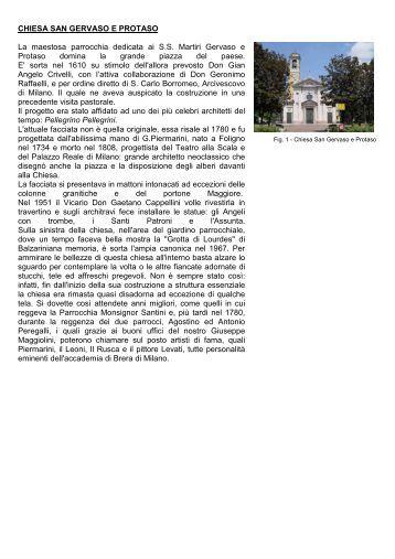 11_edifici storici- monumenti.pdf - Ecomuseo e Agenda 21 Parabiago