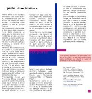 perle di architettura - Tito Canella Architetti