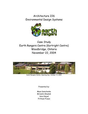 design involving ecological faculties lawsuit studies