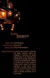 Microsoft PowerPoint - Butler Residence.ppt