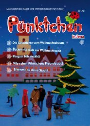 Ausgabe Jena 01/12 - Pünktchen-Magazin