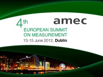 The March to Social Standards - AMEC