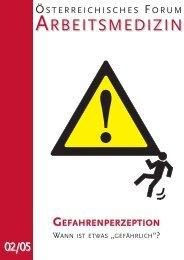 """GEFAHRENPERZEPTION - WANN IST ETWAS """"GEFÄHRLICH"""