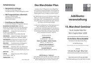 Der Marchtaler Plan - Erzdiözese Salzburg