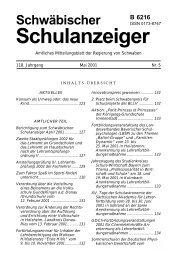 Mai 2001 - Regierung von Schwaben - Bayern
