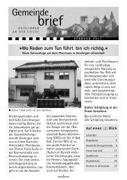 loben - klagen - danken - Kirchenbezirk Geislingen