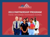 2013 PARTNERSHIP PROGRAM - National Association for Home ...