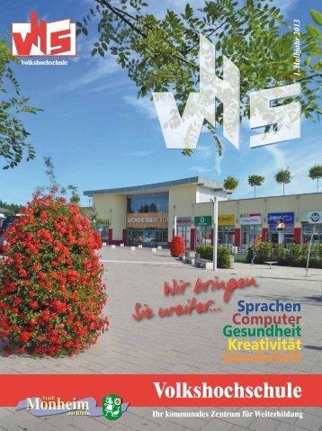 Download VHS-Programm - Volkshochschule Monheim am Rhein