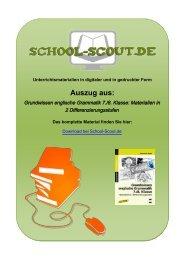 Grundwissen englische Grammatik 7./8. Klasse ... - School-Scout