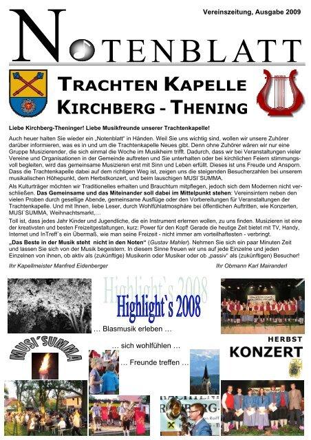 Startseite - Veranstaltungen - Kirchberg-Thening