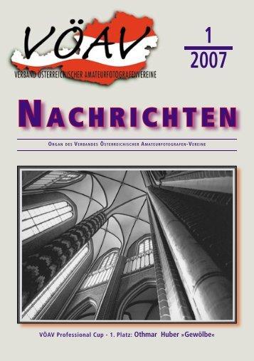1. Quartal 2007 [4.010 kB] - Die Fotosektion des SK VÖEST