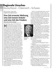 Regionale Umschau Deutschland – Österreich - Kirche Jesu Christi ...