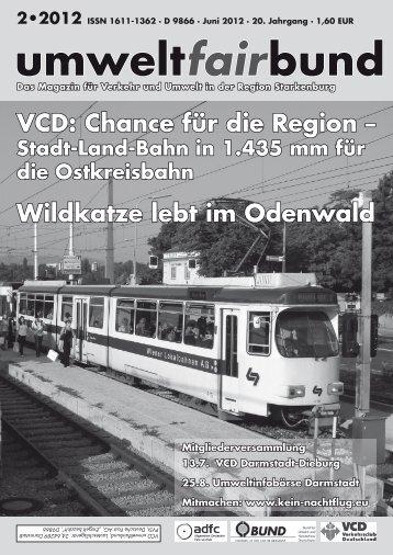 umweltfairbund 2-2012 - BUND Ortsverband Darmstadt
