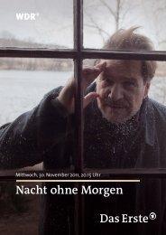 Nacht ohne Morgen (pdf) - WDR.de