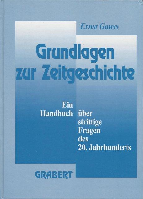 Vorwort - Holocaust-Handbücher