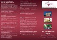 Jahresprogramm 2012 - Kultur- und Weinbotschafter