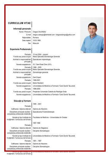 curriculum vitae - Dent Estet