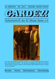 gardez! 2012 - 1 - Schachclub Weisse Dame eV