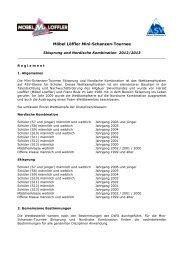 Regelement 2012 / 2013 - 27. Möbel Löffler Mini - Schanzen