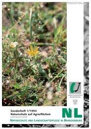 Naturschutz und Landschaftspflege in Brandenburg - MUGV