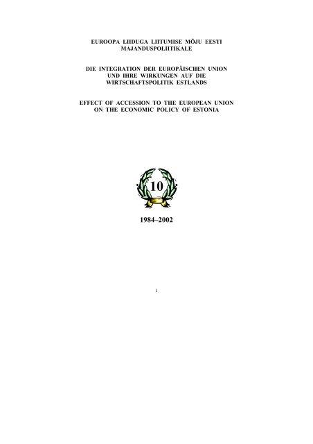 0f8ee386216 Die Integration der Europäischen Union und ihre Wirkungen - Mattimar