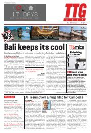 Bali keeps its cool - TTG Asia