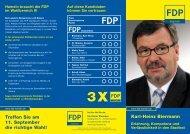 Wahlprospekt! - FDP Hameln