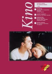 Titel Kino 1/2002 - German Cinema