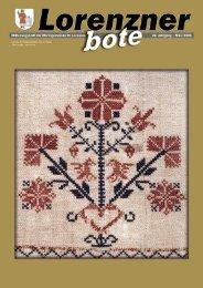 Lorenzner Bote - Ausgabe März 2005 (2MB) (0 bytes