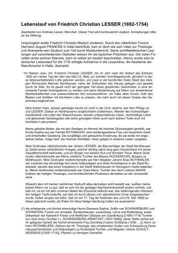 dieser Seite als PDF-Datei - Friedrich Christian Lesser Stiftung