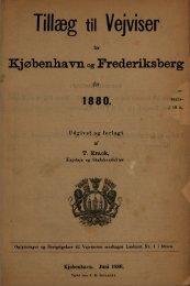 Tillæg til Vejviser - Hovedbiblioteket.info
