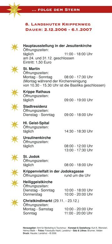 8. Landshuter Krippenweg - Tritonus-Brass