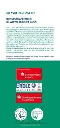 Den Flyer mit allen Informationen erhalten Sie hier - Wittelsbacher ...
