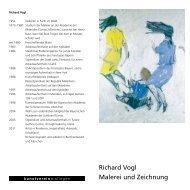 Richard Vogl Malerei und Zeichnung